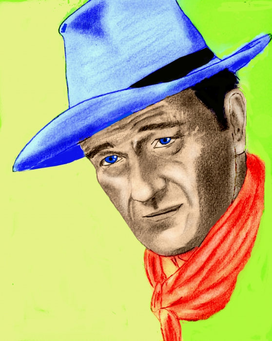 John Wayne by ultrason